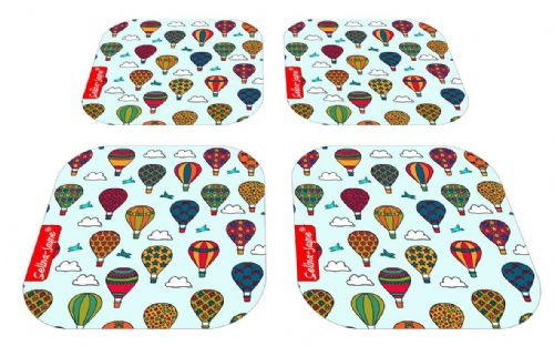 Selina-Jayne Hot Air Balloons Limited Edition Designer Coaster Gift Set